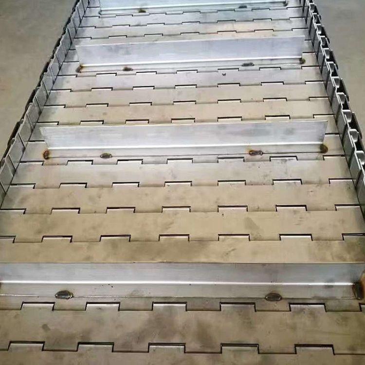 厂家定制排泄链板输送线 冲孔型链板 重型链板 耐磨型链板输送线