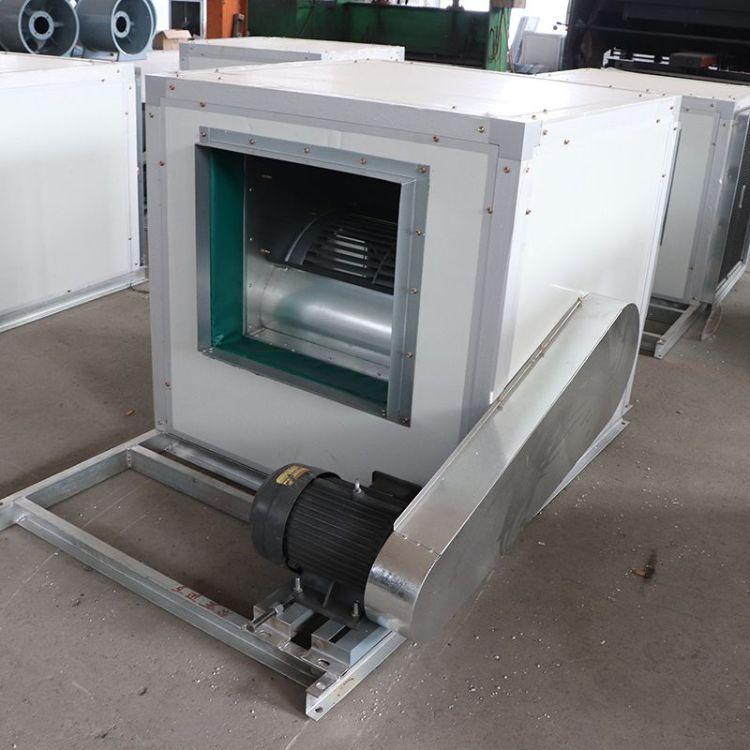 消防排烟风机箱 消防用低噪音柜式消防离心排烟风机箱