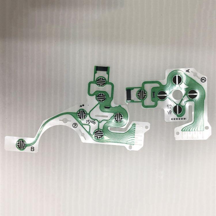PS4原装手柄导电膜,PS4手柄导电排线,手柄按键导电膜