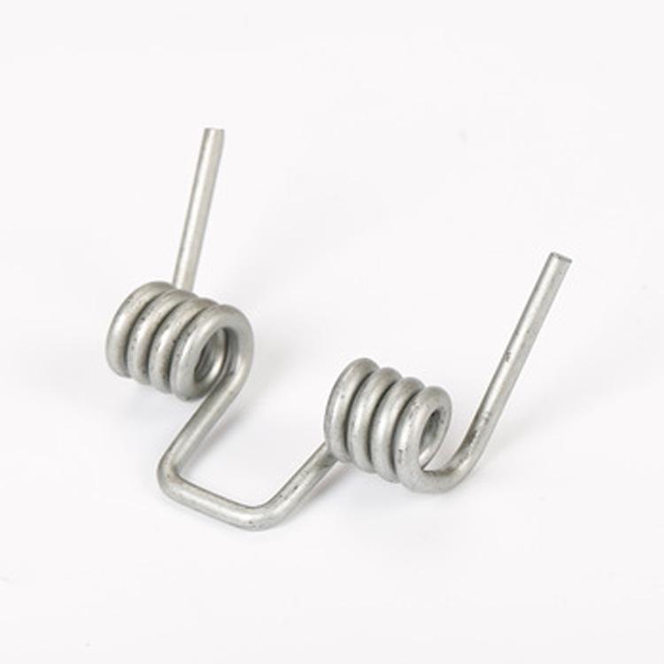 厂家加工扭簧 定制不锈钢扭转弹簧 扭力弹簧 镀锌扭转弹簧 双扭簧