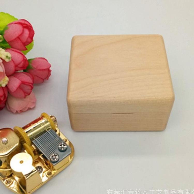 音乐盒木质八音盒木制品定制创意木制品工艺创意礼物木盒子定制