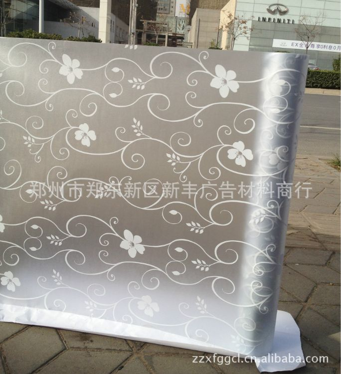 厂家直销玻璃贴膜-彩色高档玻璃贴等-量大从优