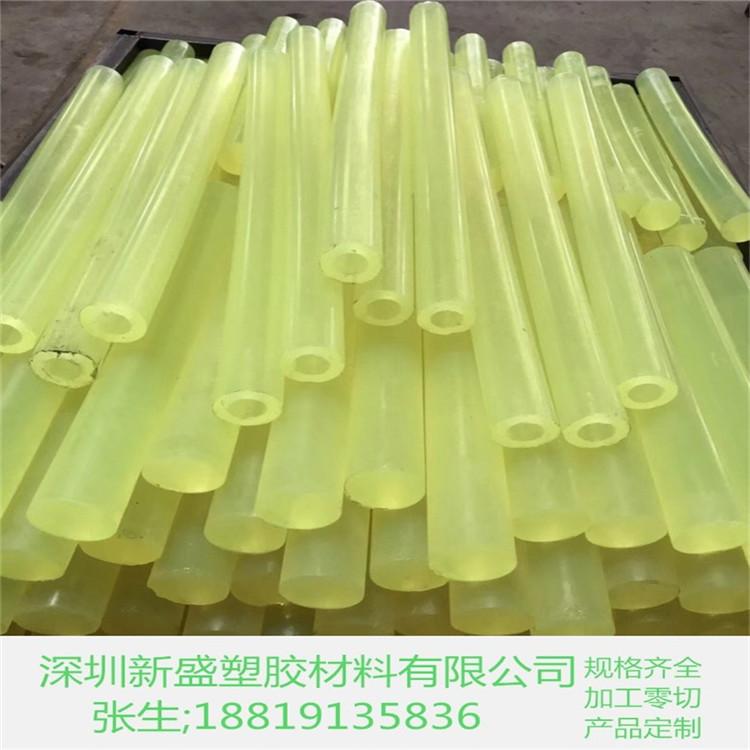 耐磨PU板 加厚优力胶 PU棒1-150-300MM 绿色优力胶棒 红色聚氨酯