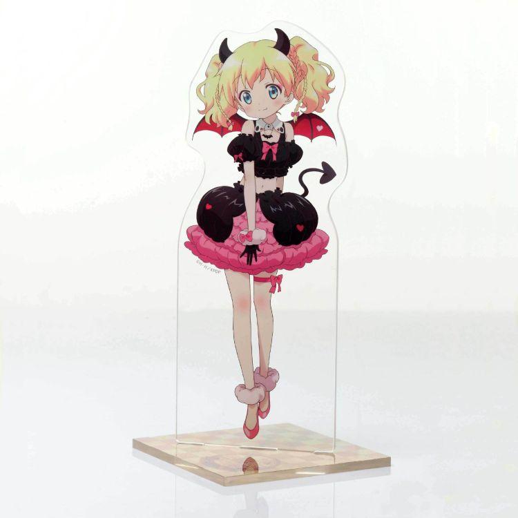 厂家定制 高品质亚克力日本卡通立座 亚克力展示架立牌玻璃制品