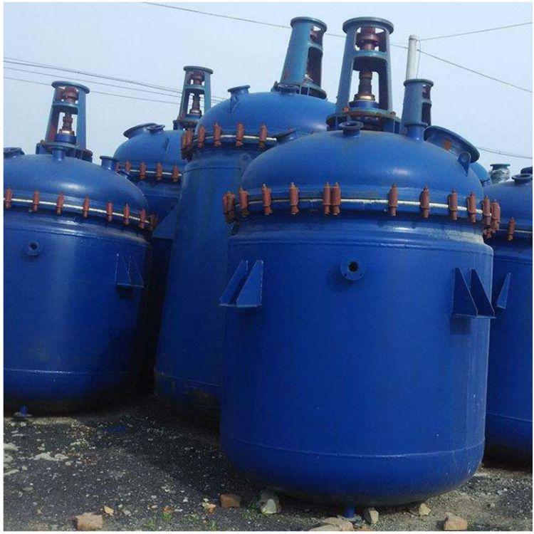 供应二手反应釜    二手不锈钢电加热反应釜   搪瓷反应釜价格   反应釜厂家