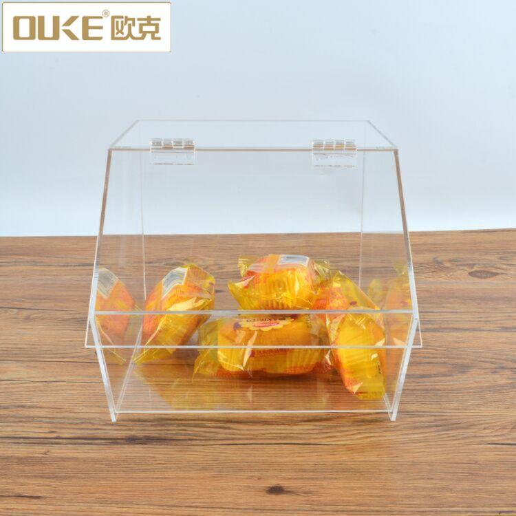 糖果零食收纳盒 透明亚克力食品分类盒 亚克力物品收纳盒加工定制