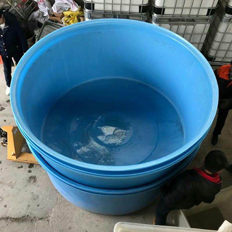 塑料养鱼盆 鱼菜共生养殖圆盆 滚塑一次成型 进口食品级pe原料