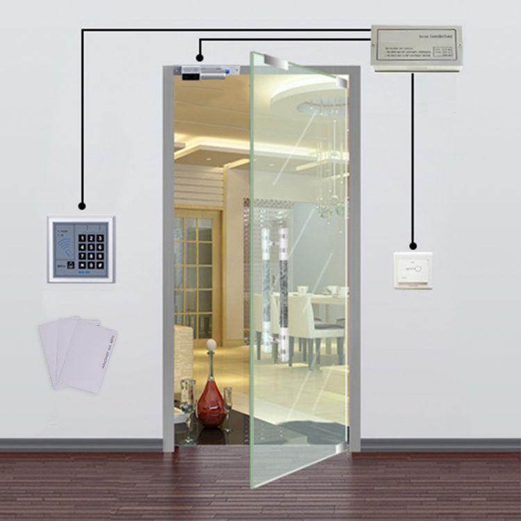 展亿新型门禁系统整套装电插锁磁力锁玻璃门木门防火门电子门禁刷