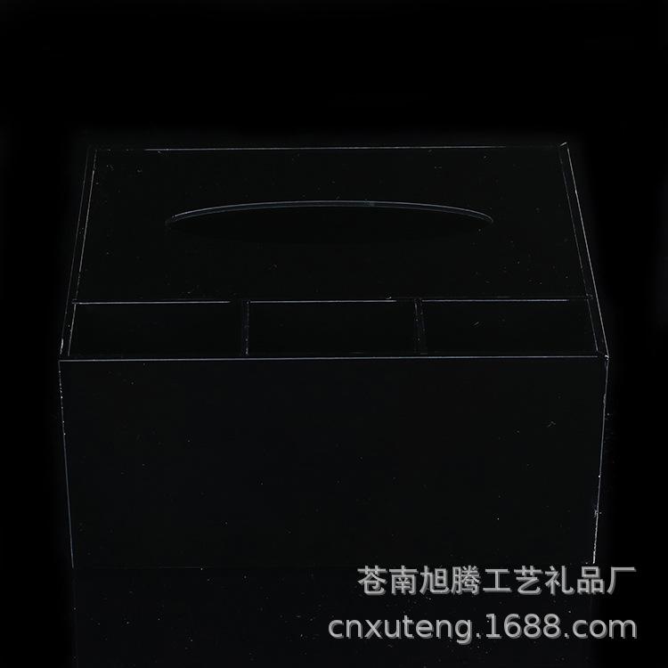 厂家定制新款透明方形亚克力盒子高端亚克力防尘盒有机玻璃收纳盒
