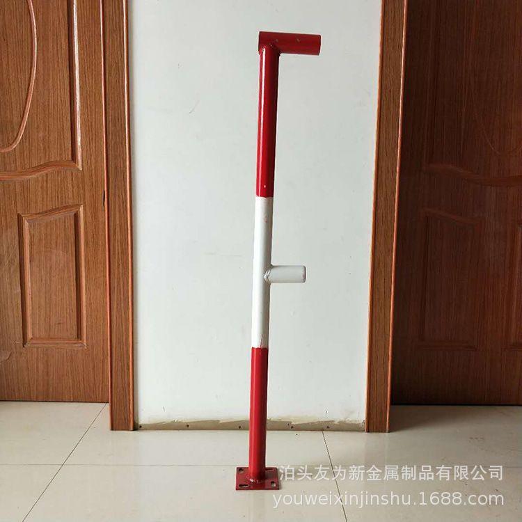 楼梯立杆 楼梯防护立杆起步杆 临边防护立杆 定型化楼梯立杆 烤漆