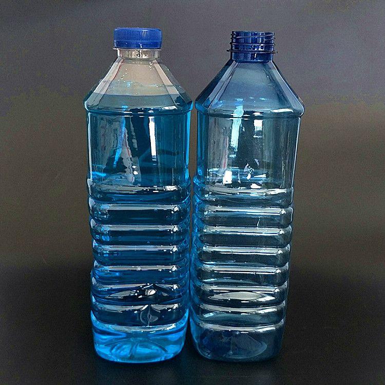 厂家大量批发1.8L玻璃水瓶 汽车玻璃水瓶pet透明玻璃水塑料瓶