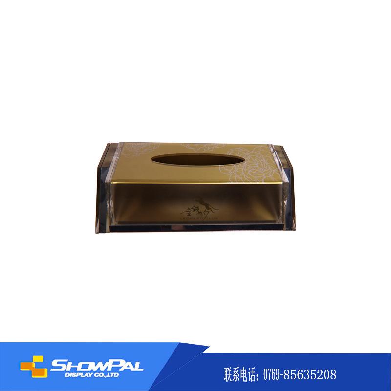 生产加工亚克力纸巾盒 亚克力盒子 有机玻璃纸巾盒 酒店纸巾盒