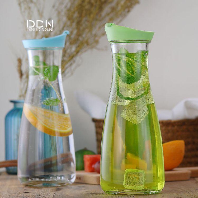 1000ml巴西牛奶瓶玻璃水壶饮料玻璃瓶 奶茶果汁瓶 玻璃冷水壶