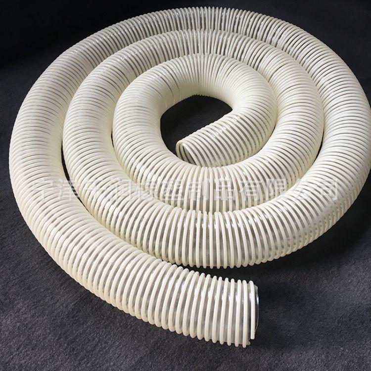 厂家塑筋增强软管 食品级软管增强pu螺旋管塑筋螺旋内壁平滑