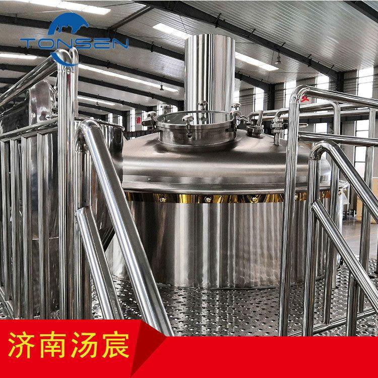 1000L两器 家酿啤酒设备 精酿啤酒设备 全自动化糖化系统