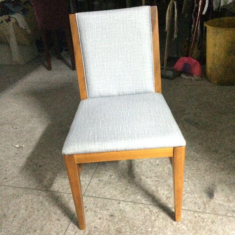 餐厅酒店特色餐椅定做 纯实木餐椅支持订做 简约时尚款餐厅家具