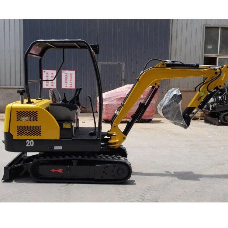 农村改造专用小型挖掘机 三缸小挖机 国产履带式微型挖掘机现货