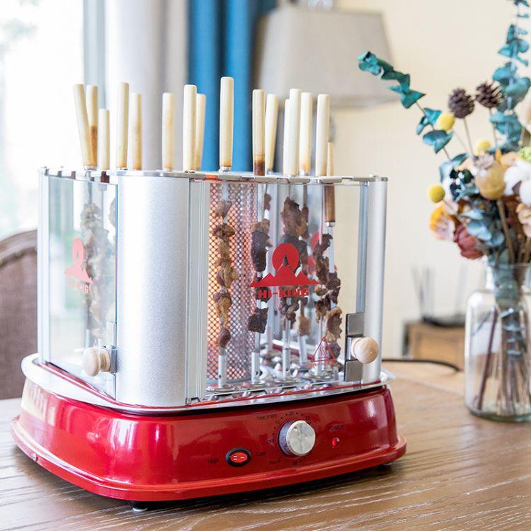 韩式自动旋转烤烤炉 串机烤肉炭烤炉设备 全方位旋转烧烤机电烤炉