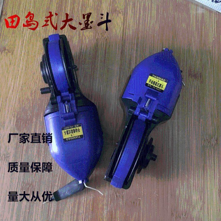 厂家直销手卷式墨斗 30米墨斗木工划线 田岛式带墨汁大墨斗