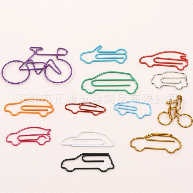 特色铁艺造型订制 交通工具造型创意五金工艺品礼品之异形回形针