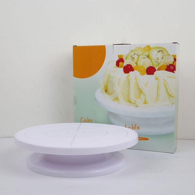 烘焙工具 蛋糕裱花台 轻便稳固蛋糕转盘 DIY裱花转台 蛋糕模具