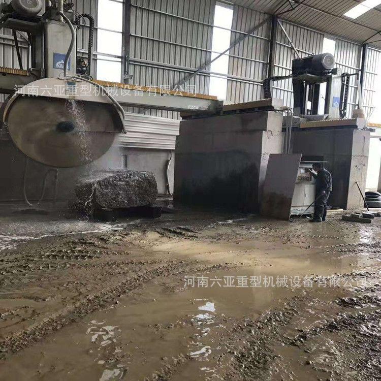 供应山东加气砖切割机 水泥制品砌块切割机 路沿石石材分片切割机