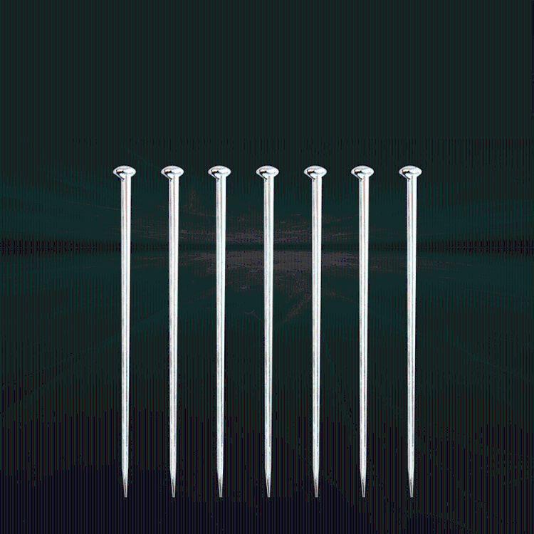 锦豪铁大头针别针扣针扭扭钉针 38MM*0.7612MM*0.7织带针