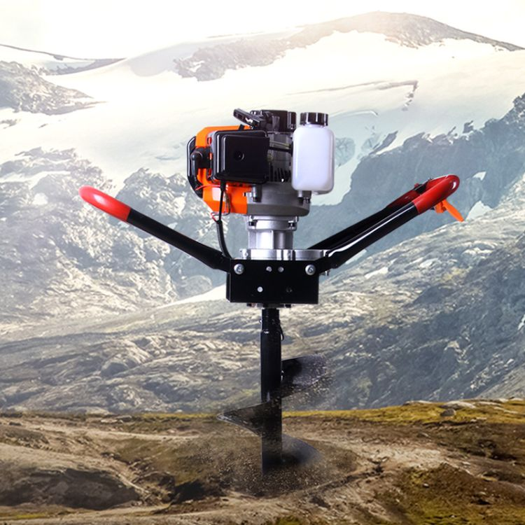 厂家直销打洞机 挖坑机 新款大功率地钻 植树机 二冲汽油种植机