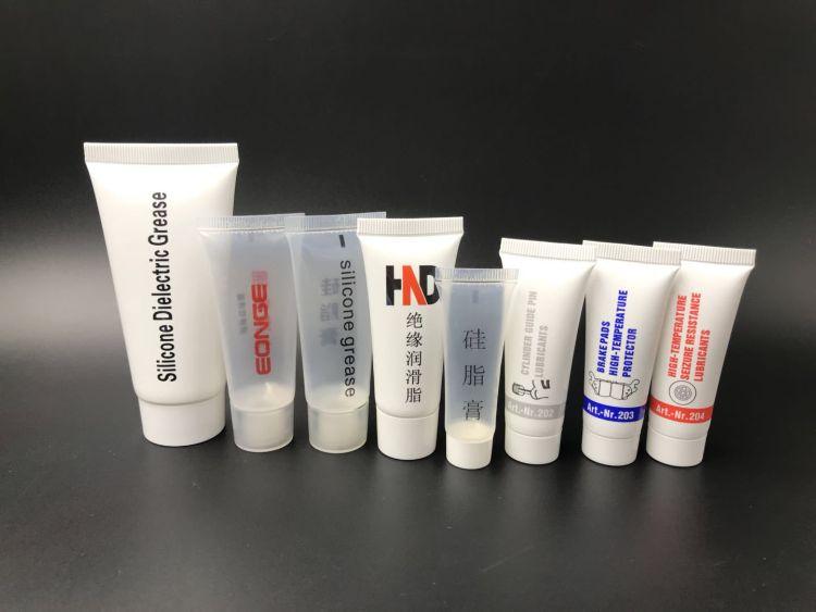 厂家直销硅脂膏绝缘润滑脂塑料包装软管