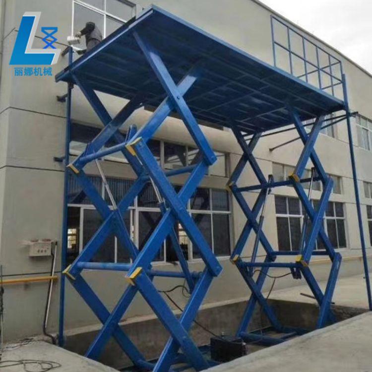 固定升降台厂家直销剪叉固定式液压升降平台固定液压升降货梯支持定制