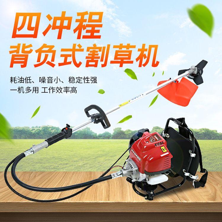 一件代发割灌机恒雅HY140背负式割草机打草机侧挂式割稻机割麦机