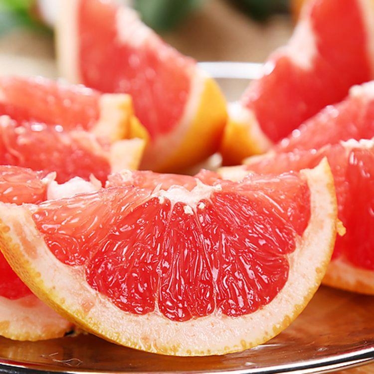 南非进口红心西柚68个装包邮 单果约240-300g红肉柚子新鲜水果