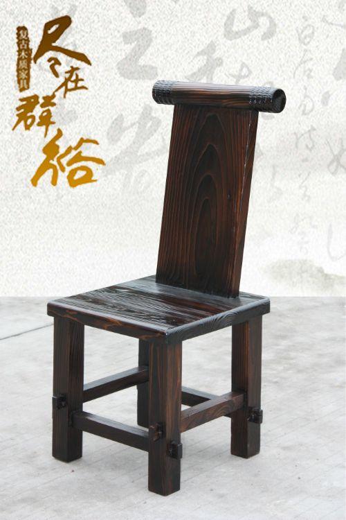 供应大量炭烧餐厅家具 火锅炭烧家具 特色实木松木椅子