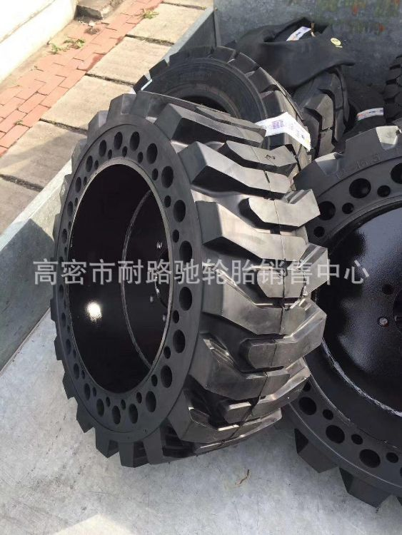 滑移装载机 实心铲车轮胎825-16 10-16.5 12-16.5轮胎带钢圈