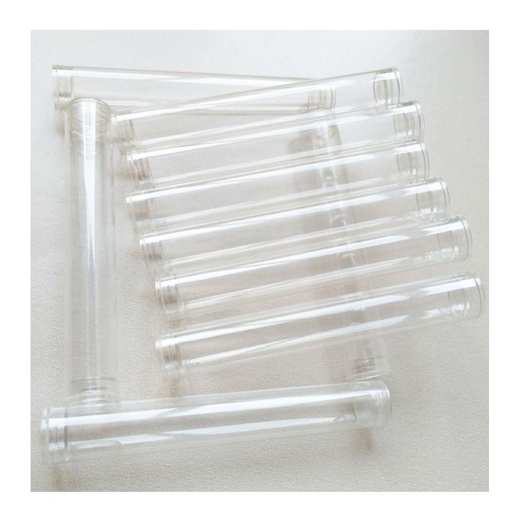 小配件包装管源头厂家 10mm塑料圆形管 pc管子硬透明长度可定制