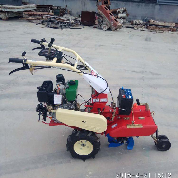 莱州远腾机械 开沟机培土机柴油微耕机 农业畜牧业多用处开沟机