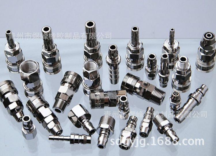 现货供应不锈钢304高压胶管接头液压三件套油管接头总成ACDH型