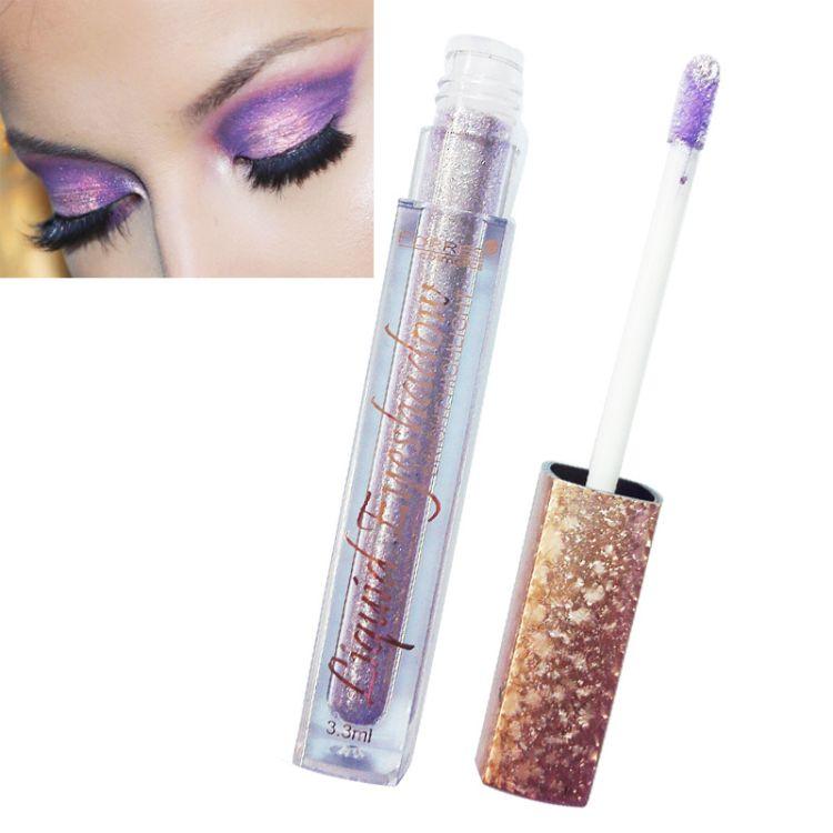 farres彩妆眼影液高珠光眼影蜜提亮润色12色眼影一件代发