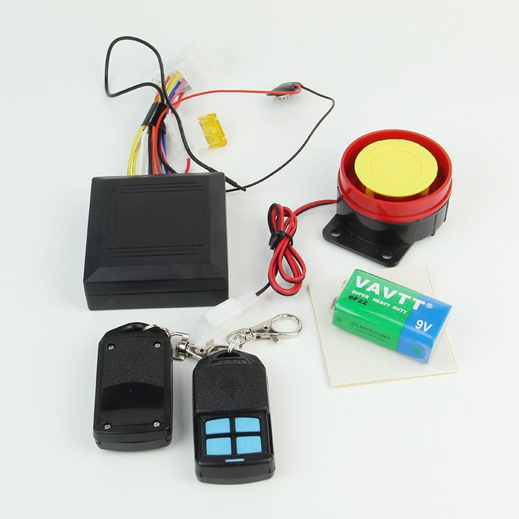 防盗器防剪线防撬锁暗锁无损安装报警器 摩托车电动车安全报警器