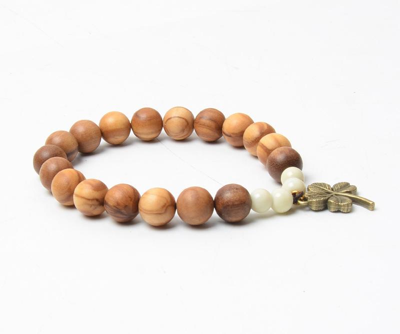 橄榄木创意手链手串 手工制作 BN0006