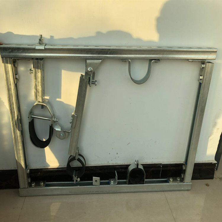 抗震管廊配件 抗震支架 抗震绞链接 铰链AB 抗震紧固件 抗震配件