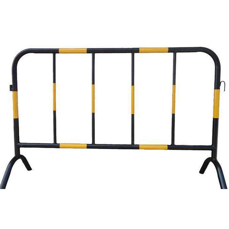东莞铁马厂家现货供应黄黑隔离护栏1*1.5米施工铁马