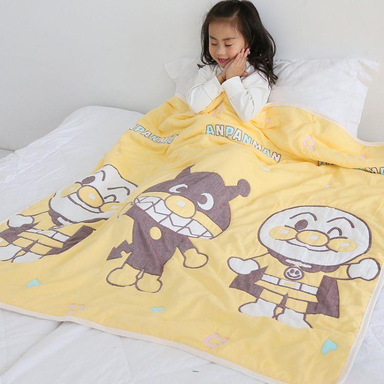 10层纱布儿童被出口日本 原单货专柜品质 秋冬加厚款 婴幼儿棉被