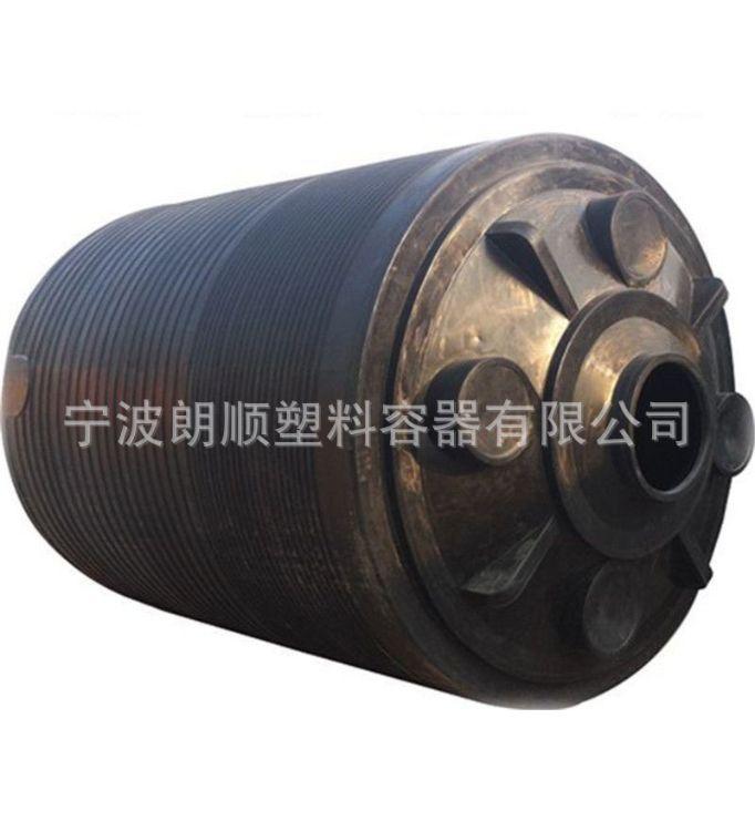5吨过氧化氢贮存塑料容器 加厚型PE立式平底耐酸碱塑料水塔
