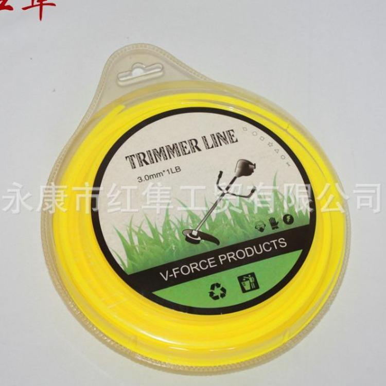打草绳 割草机专用尼龙打草绳 打草头线 圆形方形螺旋静音打草绳