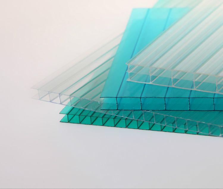 厂价销售聚碳酸酯PC板阳光板6毫米绿色阳光板