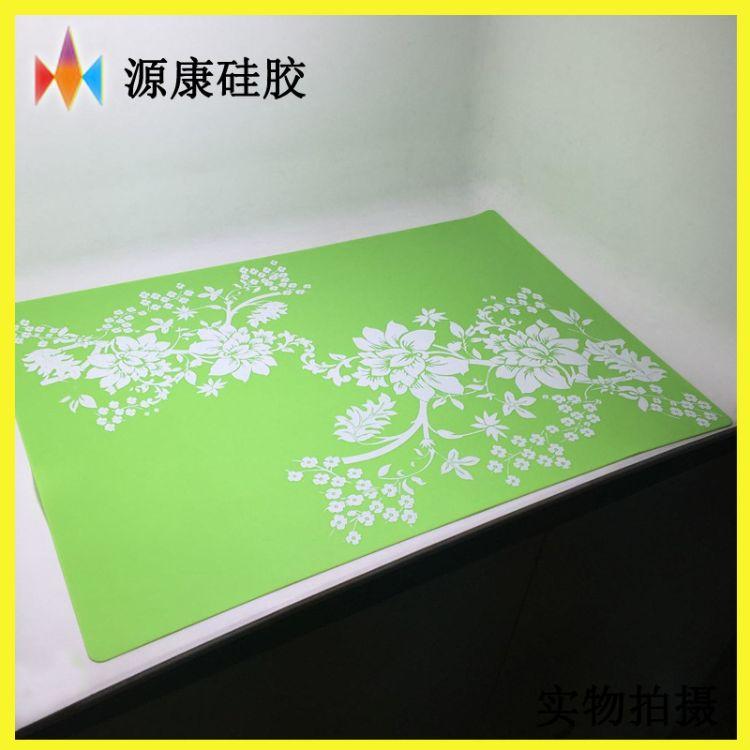 高档环保硅胶隔热垫 耐热防滑餐桌垫 酒店用硅胶餐垫