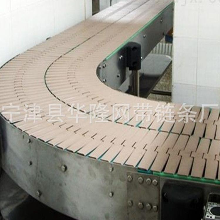 产地货源 304不锈钢链板输送机 不锈钢链板转弯机 加工定制