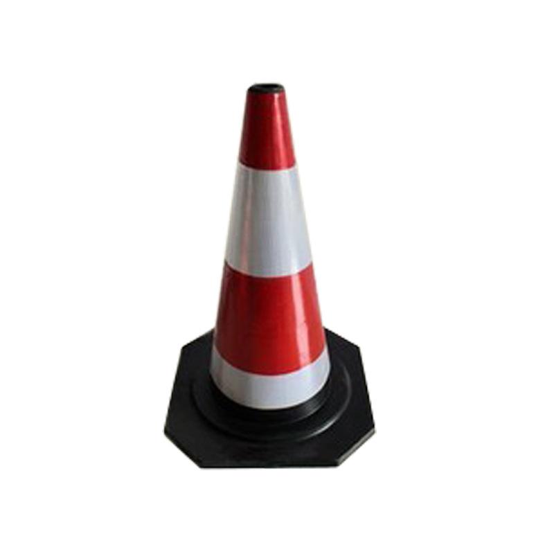 50cm橡胶路锥 雪糕筒 反光锥 道路隔离锥 路障锥 三角锥厂家直销