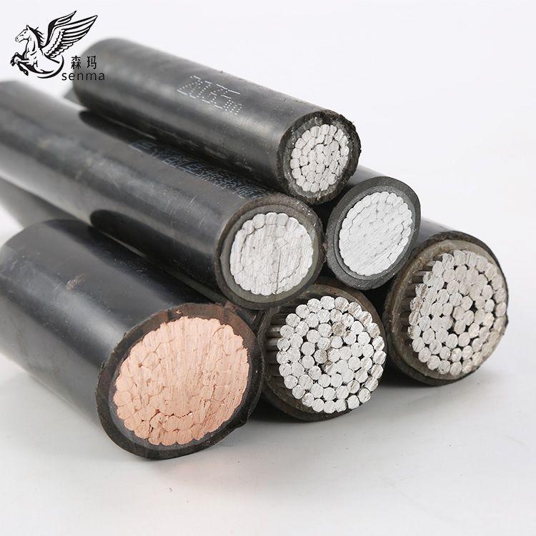 厂家直销 电源线 BLV森玛单股铝芯线 25平方 国标单芯铝线批发